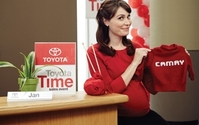 Toyota And Saatchi Write Ad Star's Pregnancy Into Popular