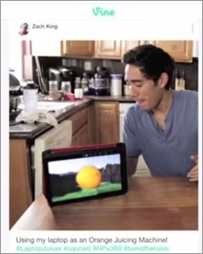 HP Uses Vine Stars To Cut TV Spot Time, Cost