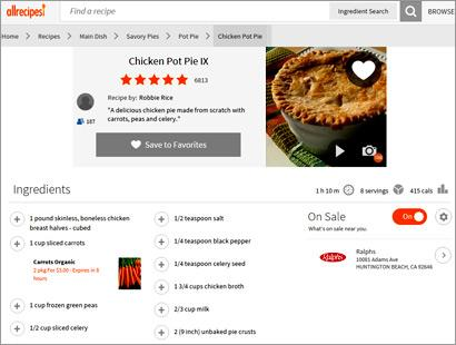 Allrecipes adds search by ingredients native ads directing allrecipes continually proves content and native advertising fuel search engine advertising and marketing merediths foodie web site tuesday officially forumfinder Gallery