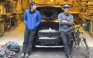 Alex Honnold Jimmy Chin Drive Bmw On Periscope 11 03 2015