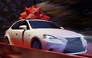 Charming Lexusu0027 U201cDecember To Rememberu201d Year End Campaign Is Back, Red Ribbons And  All. As With Last Year, The Idea Is That The Supernatural Delivery Of Lexus  ...