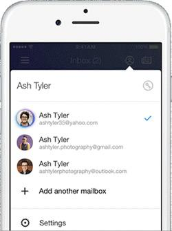 yahoo mail app search not working